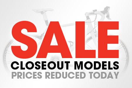 Trek Closeout Sale