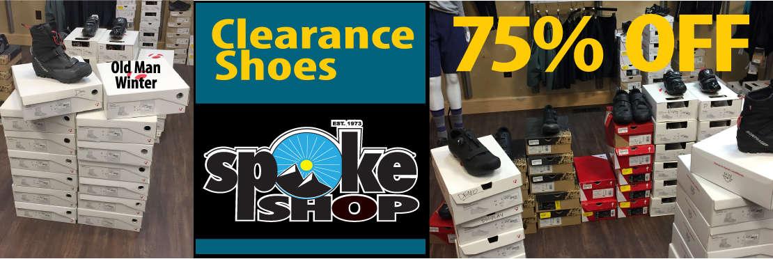 Shoes 75% OFF at the spoke shop billings montana