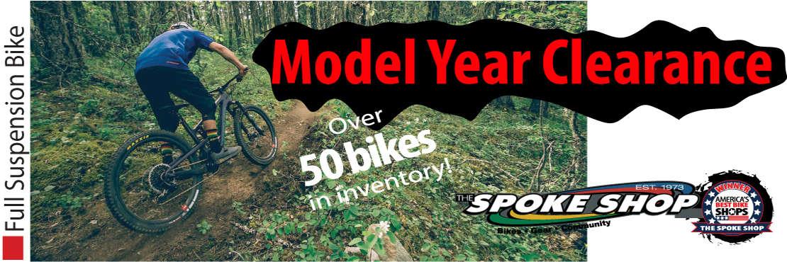 FSR Model year clearance The Spoke Shop