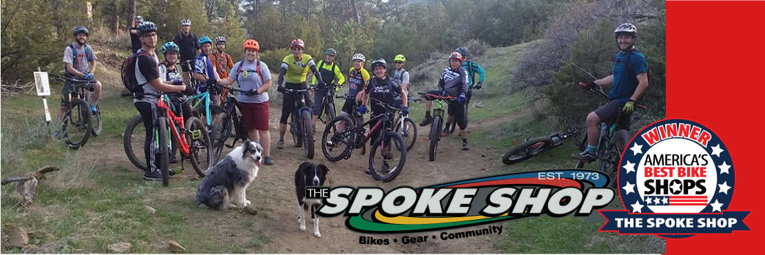 Group rides sponsored by the Spoke Shop