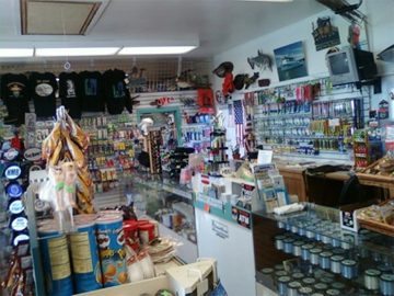 The shop at Half Moon Bay Sportfishing has all you need for a great outdoor adventure.