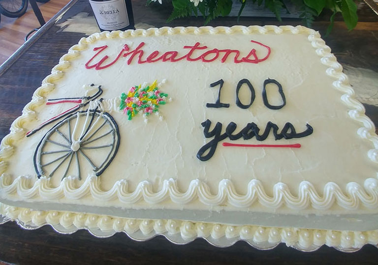 Wheaton's 100 years celebration