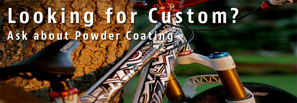 Powder Coating paint jobs available