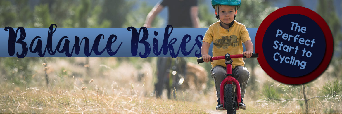 Balance bikes are a great start to cycling