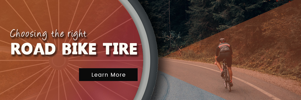 How to choose the right road bike tire