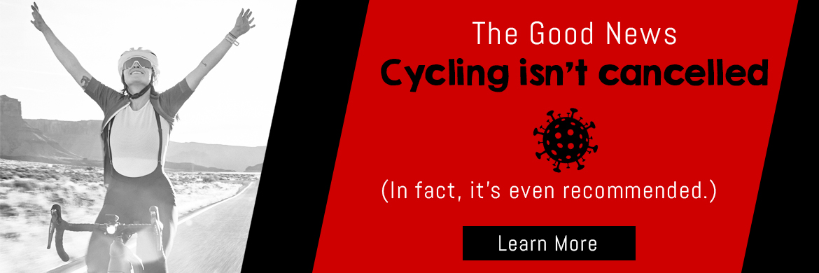 Cycling isn't cancelled