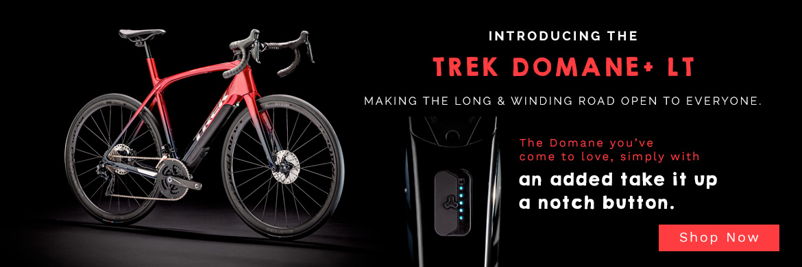 Trek Domane+ LT now available at SouthWest Bicycles