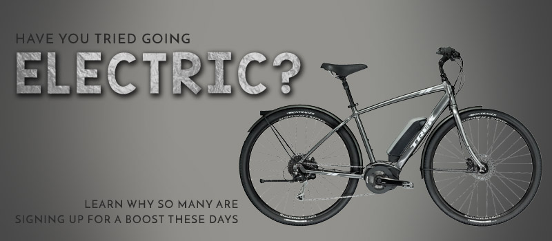 Have you Tried An Electric Bike?