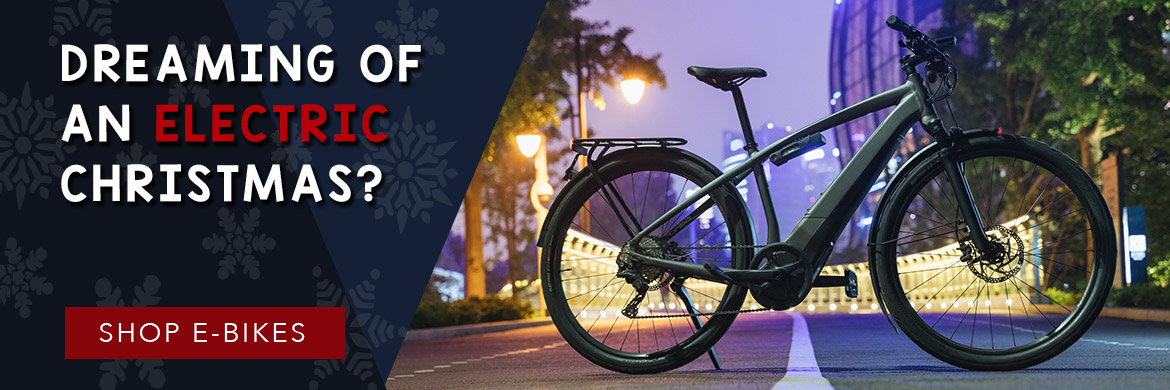 Shop E-bikes for the holidays!