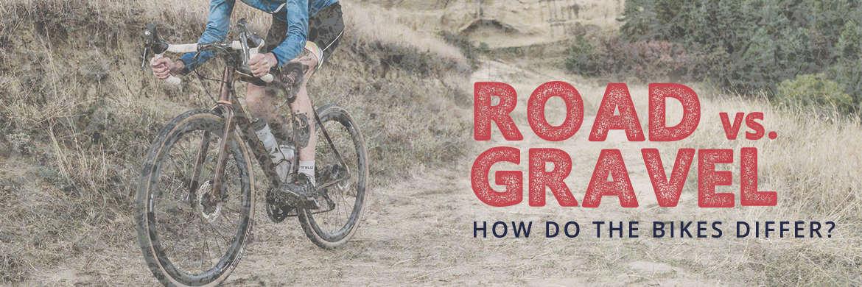 Road vs. Gravel Bikes