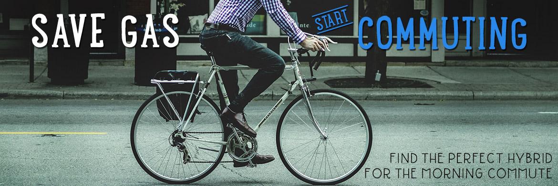 Save gas, start bike commuting