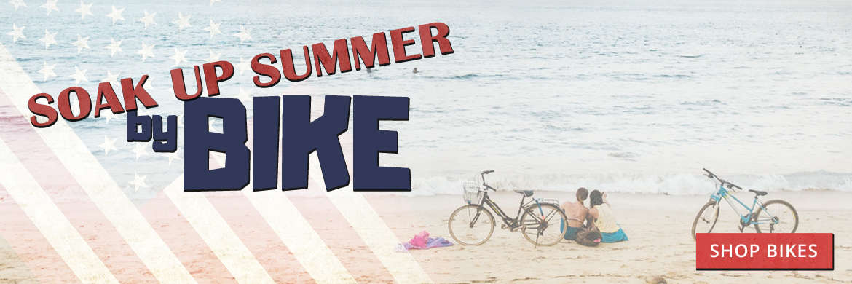 Soak up summer by bike