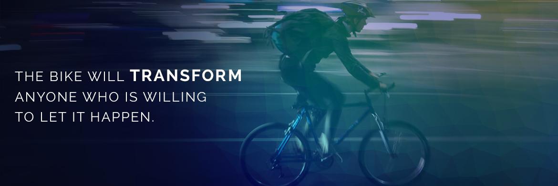 Bikes lead to transformation
