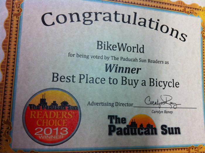 Paducah Sun Readers Choice Winner 2013