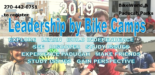 Leadership by Bike Camps