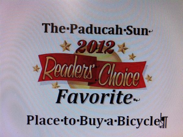 2012 READER'S Choice Winner