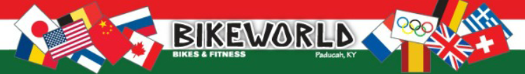 BikeWorld Bikes & Fitness Logo