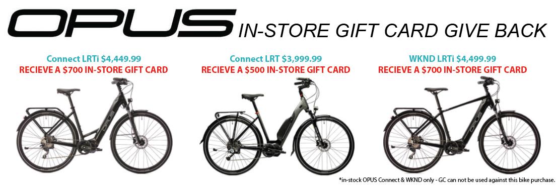 OPUS connect & LRTi Gift Card BONUS