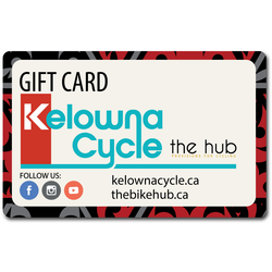 Kelowna Cycle Gift Cards