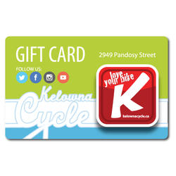Kelowna Cycle Gift Cards
