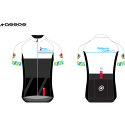Assos ASSOS/ KELOWNA CYCLE-THE HUB CUSTOM JERSEY S/S