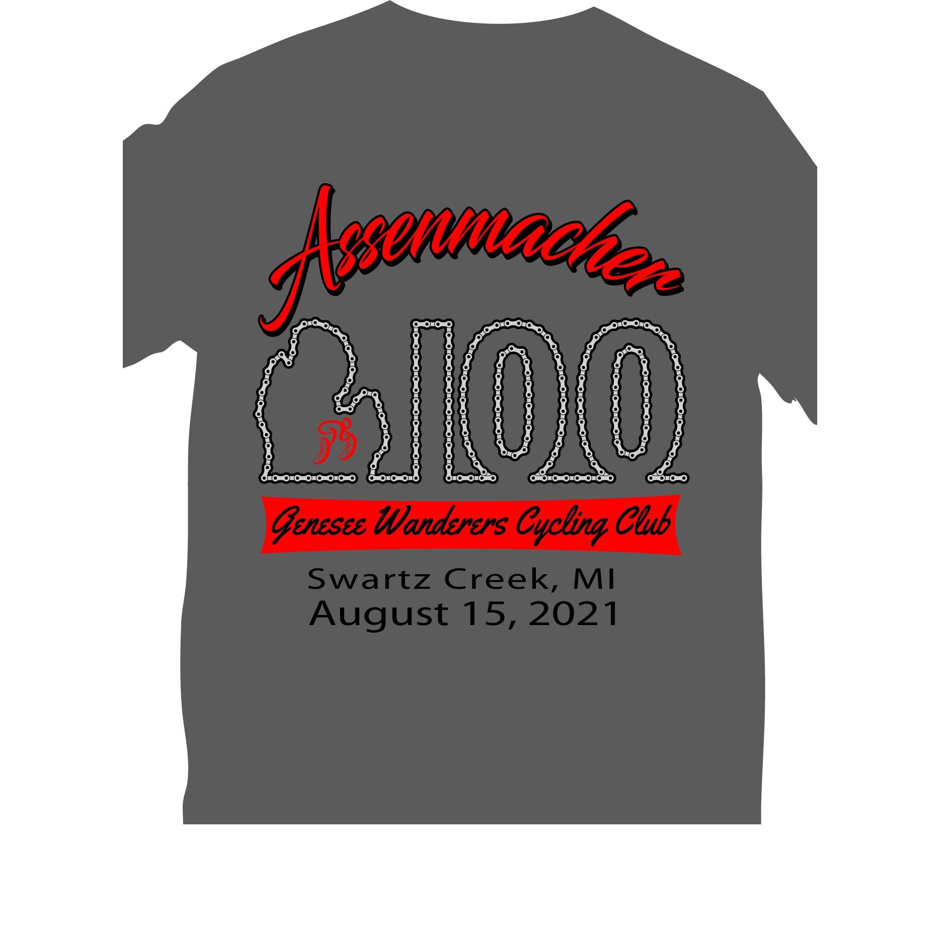 Assenmacher 100 T-shirt design