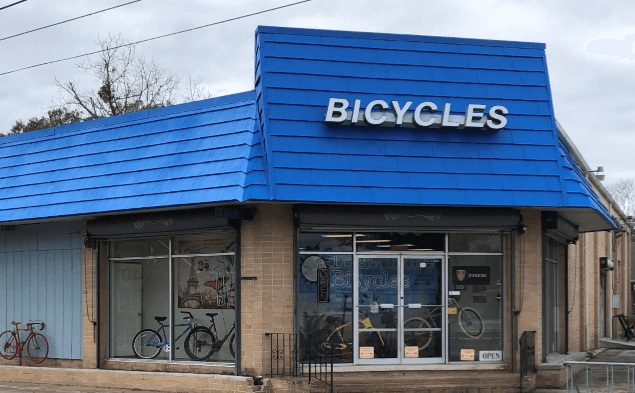 LakeShore Bicycles storefront