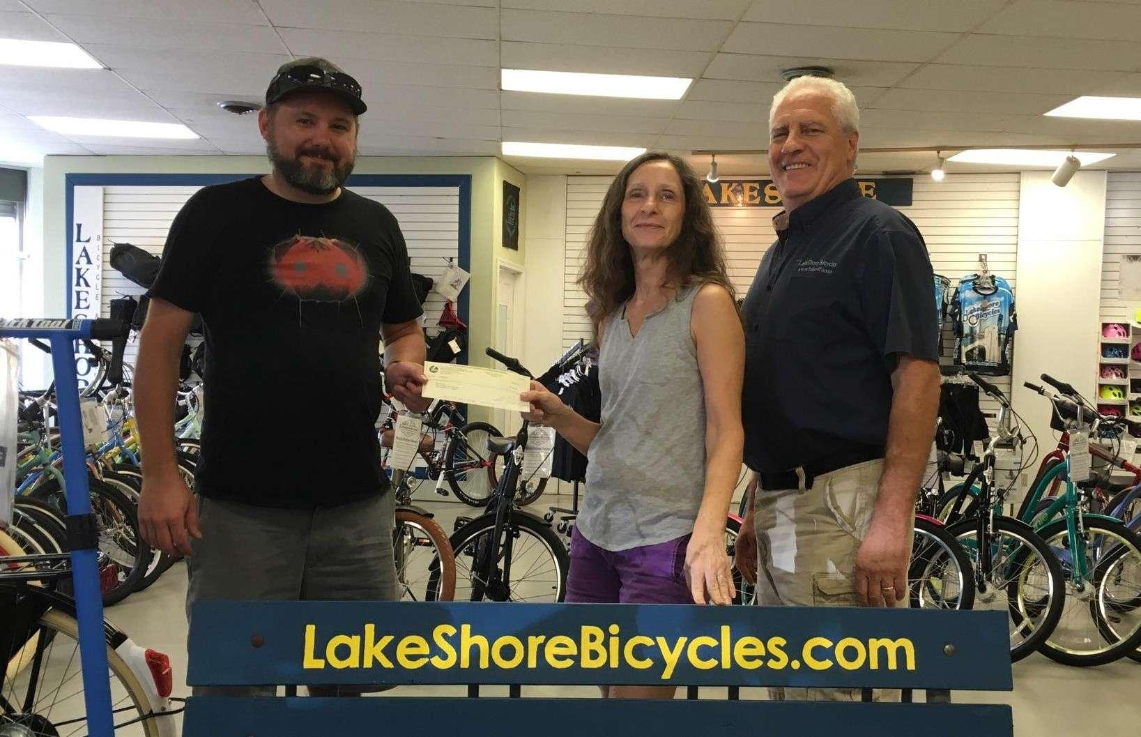 LakeShore Bicycles raising money for SORBAJax