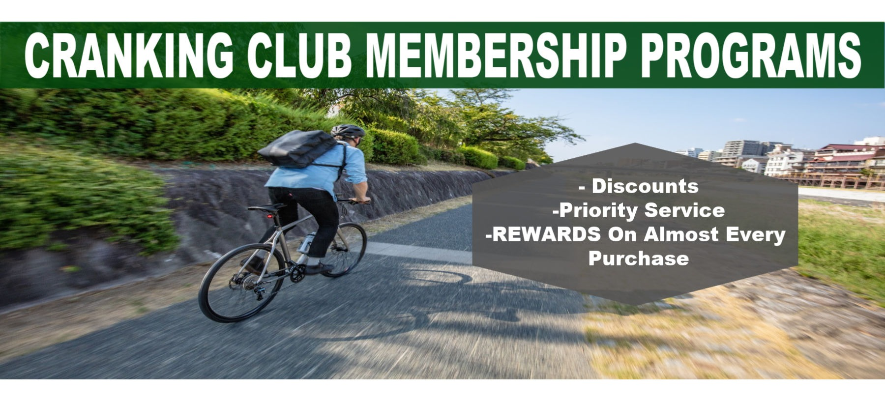 Crank Club Membership Program