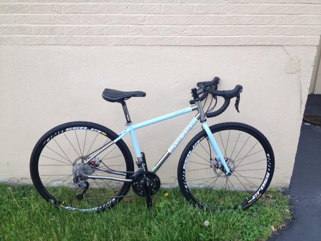 Debby's Custom Seven Axiom SL Touring Bike
