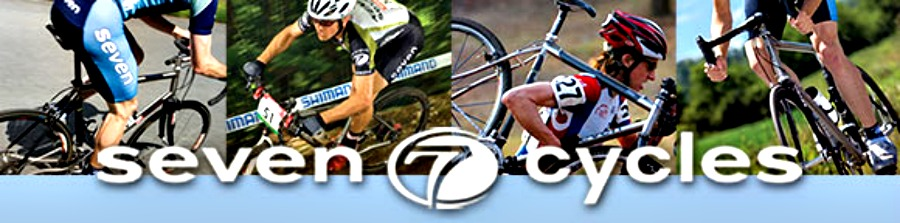 Seven Cyles offers top-notch titanium, carbon and steel bicycles!