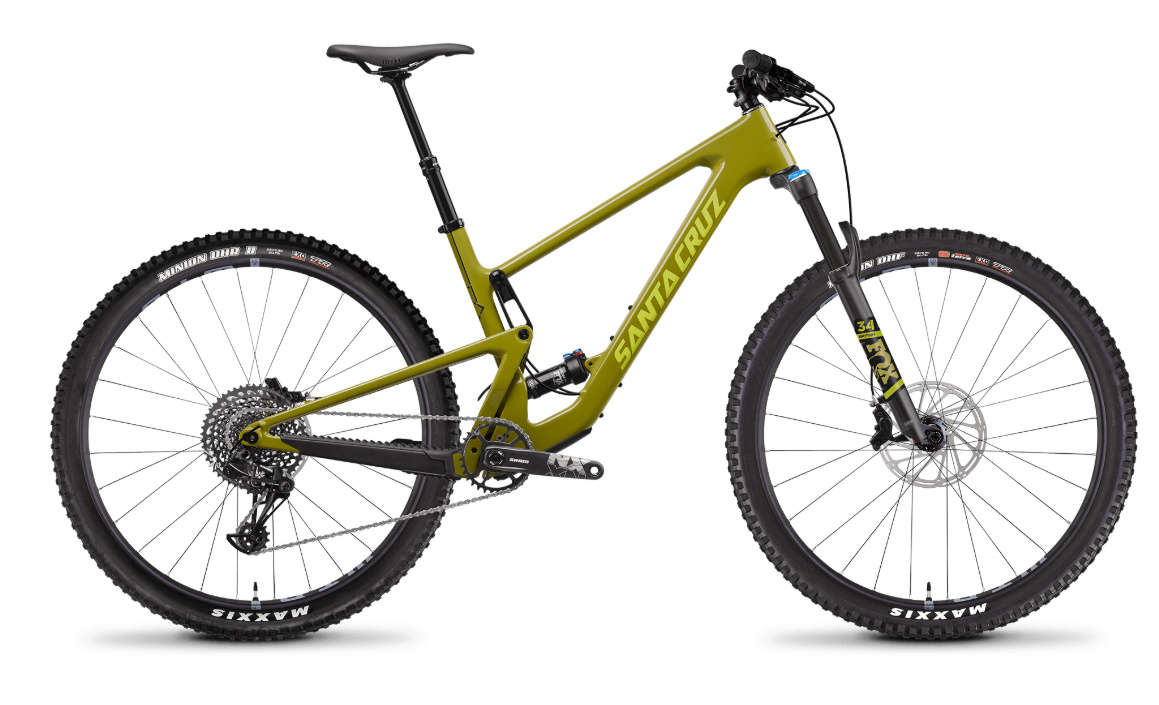 Santa Cruz Tallboy Carbon Test Bike