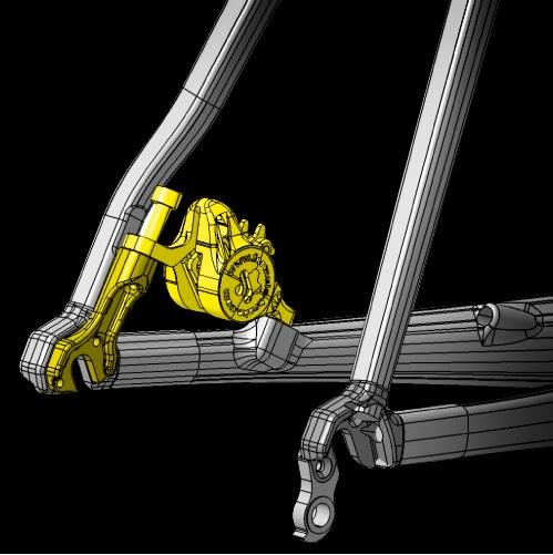 Colnago V1-R Discbrake Rear