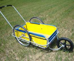 Convert any Cycle Tote trailer into a stroller
