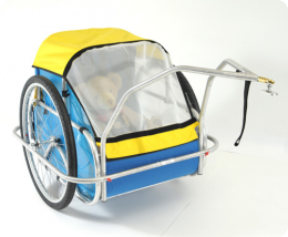 CycleTote Utility to Child trailer conversion