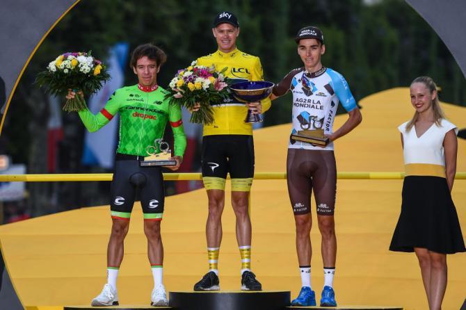 2017 Tour de France Podium
