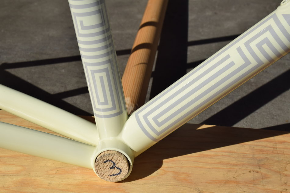 51cm Pegoretti Marcelo Falz in the Mesonperso color scheme. In stock at Lakeside Bicycles.