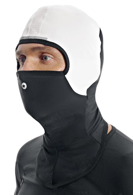 Balaclavas, like the Assos FuguFace F7, offer head, neck and face protection