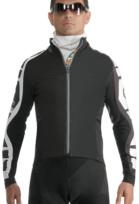 The Assos iJ.bonKa.6 winter jacket, available at Lakeside Bicycles
