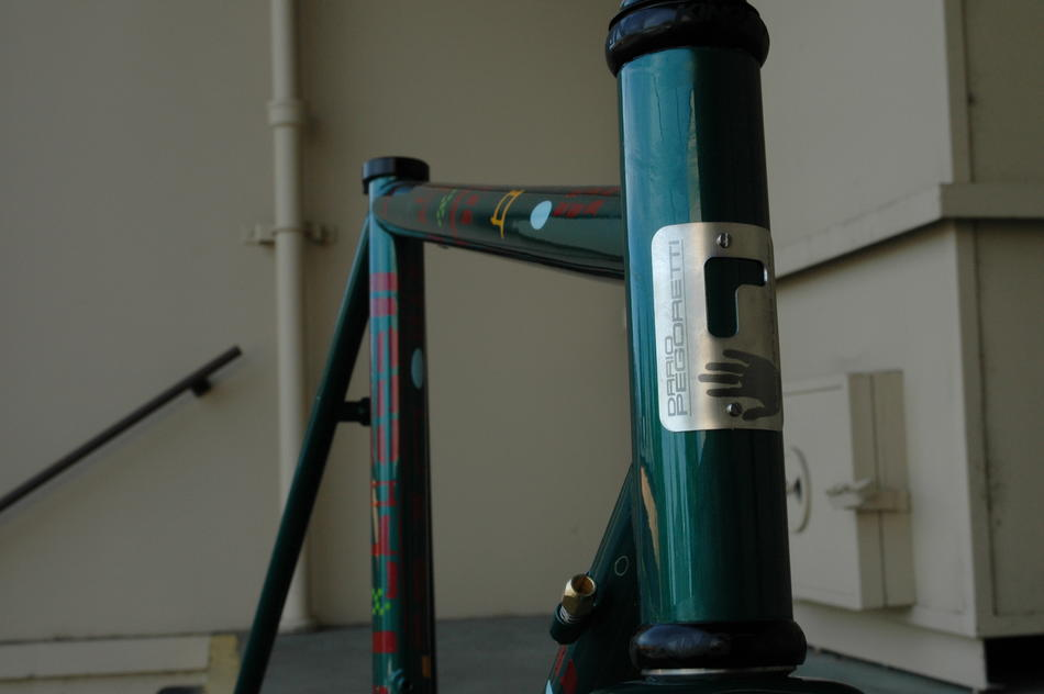 54cm Pegoretti Marcelo Falz in Green DownTown color scheme. In stock at Lakeside Bicycles.