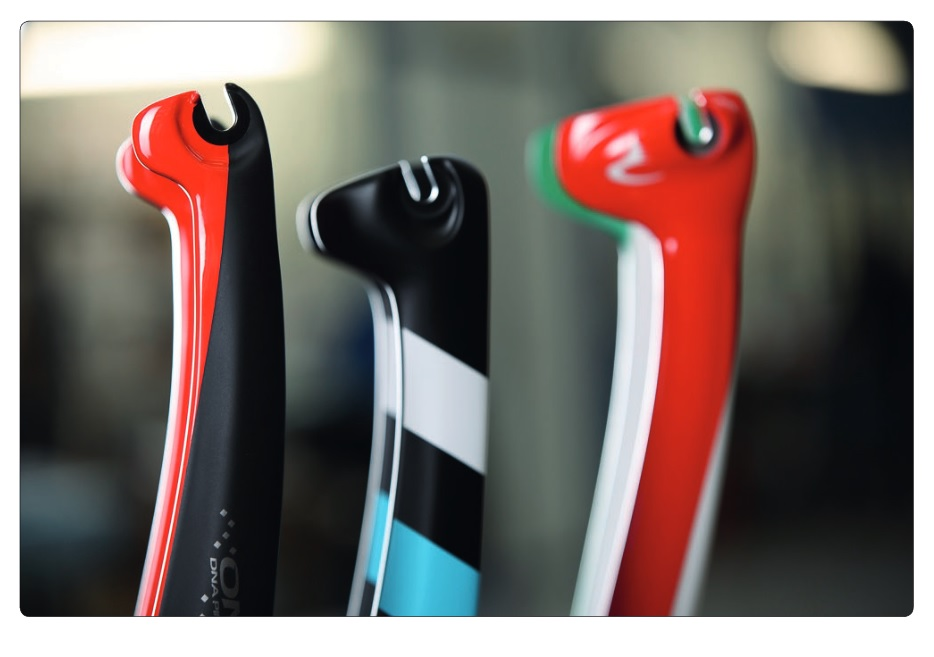 Dropouts of the Pinarello Dogma F10 the Bolide HR and the Bolide TT