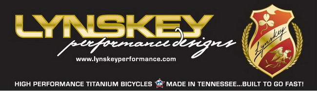 Lynskey titanium. Made in the U.S.A. Sold in the Portland area at Lakeside Bicycles in down town Lake Oswego