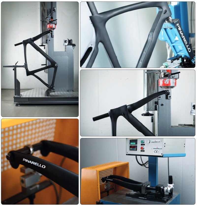 Of course Pinarello employed extensive lab testing during the design of the Dogma F10