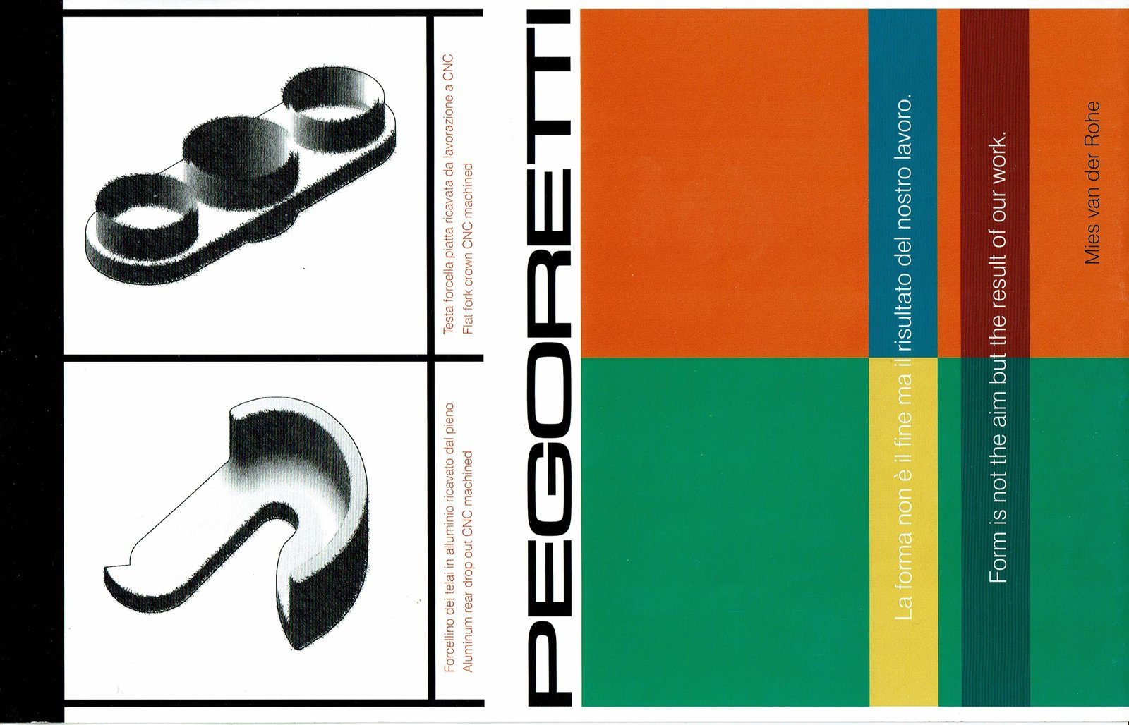 Cover of the Pegoretti 2002? catalog