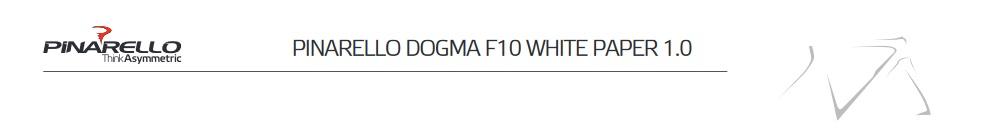 Pinarello Dogma F10 Whitepaper 1.0