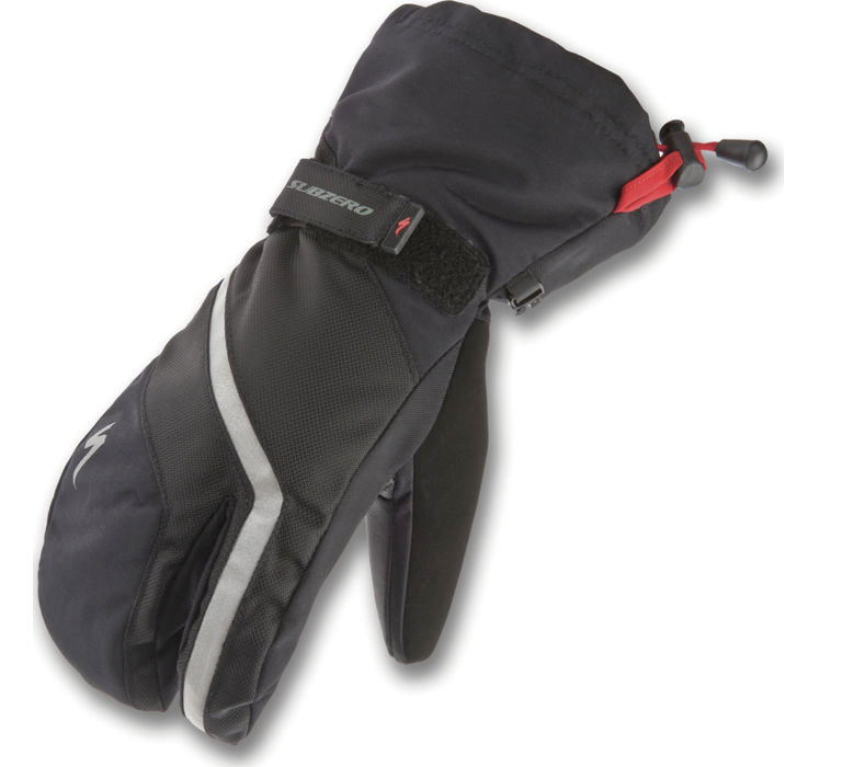 Specialized Sub Zero waterproof, winter gloves available at Lakeside Bicycles.