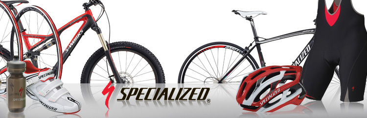 Specialized and Specialized S-Works are available at Lakeside Bicycles.