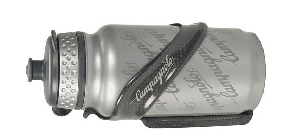 Campagnolo Record water bottle and cage.