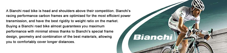 Bianchi Road Bikes: Head and shoulders above the rest, available at Lakeside Bicycles