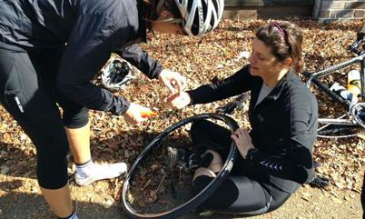 Fixing a flat bicycle tire is something anyone can do!